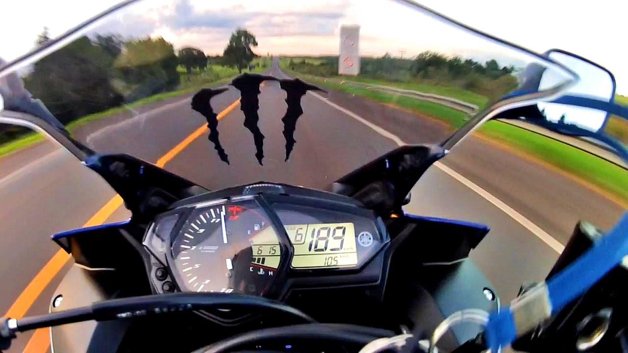2016 Yamaha R3 >> YAMAHA YZF R3 # Primeiro Top Speed + Test Ride - YouTube
