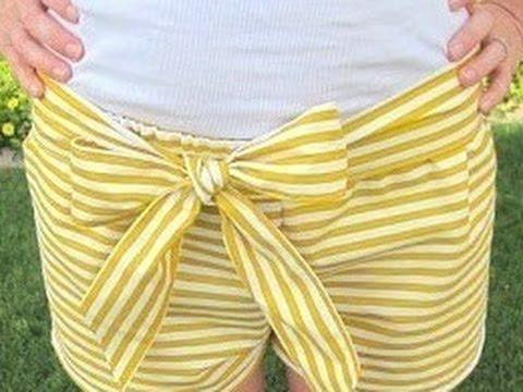 Shorts selber nähen. Shorts selber machen. - YouTube
