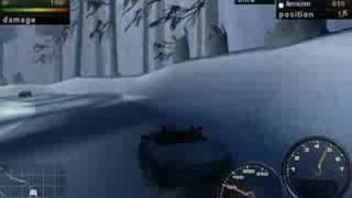 Need for Speed Porsche Unleashed - Winter Schwarzwald
