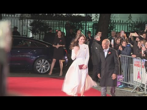 HRH Duchess of Cambridge wows at A Street Cat Named Bob world premiere