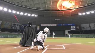 Дарт Вейдер играет в бейсбол