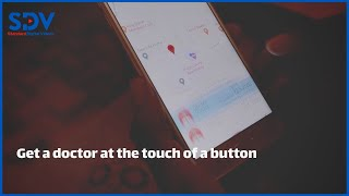 TIBU Health APP allows people to order a doctor to their home at the touch of a button using a phone