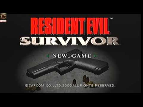 Resident Evil: Survivor │ Full Walkthrough │ PS1 │ Part 1-5 │