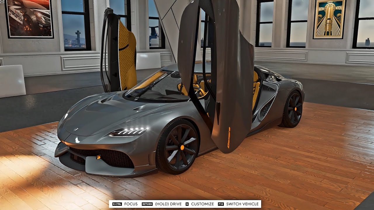 The Crew 2 - 1808HP Koenigsegg Gemera Customization & Gameplay