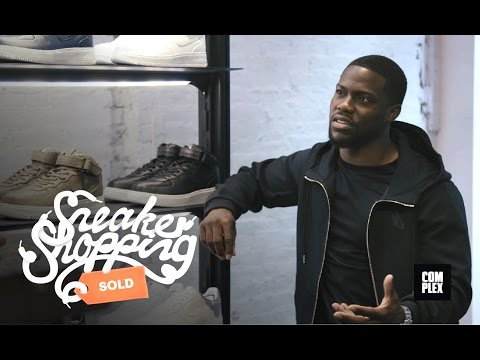 Kevin Hart Goes Sneaker Shopping With Complex