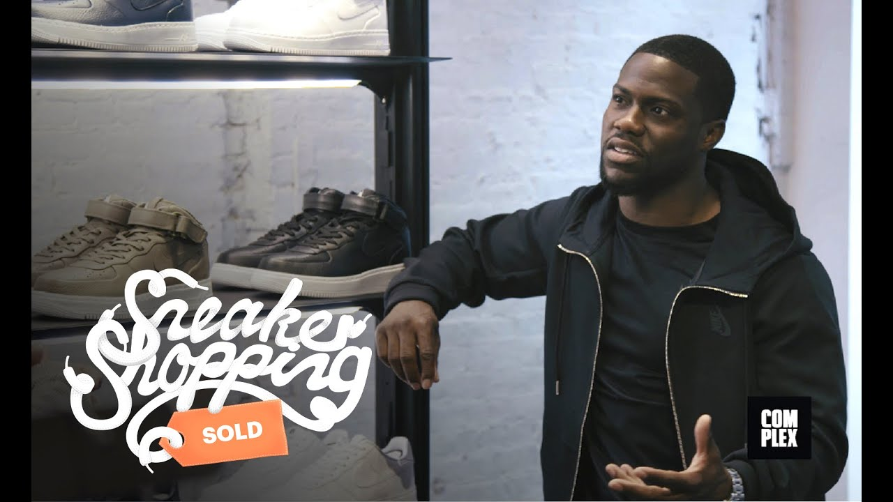 Kevin Hart Goes Sneaker Shopping With Complex - YouTube 549c184a0