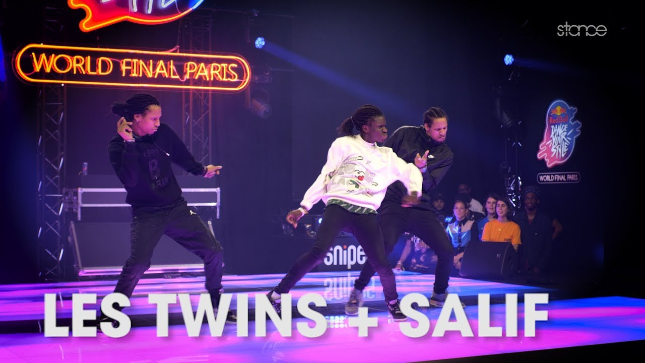 LES TWINS + SALIF // .stance [4K] // Red Bull Dance Your Style World Finals 2019 // .stance