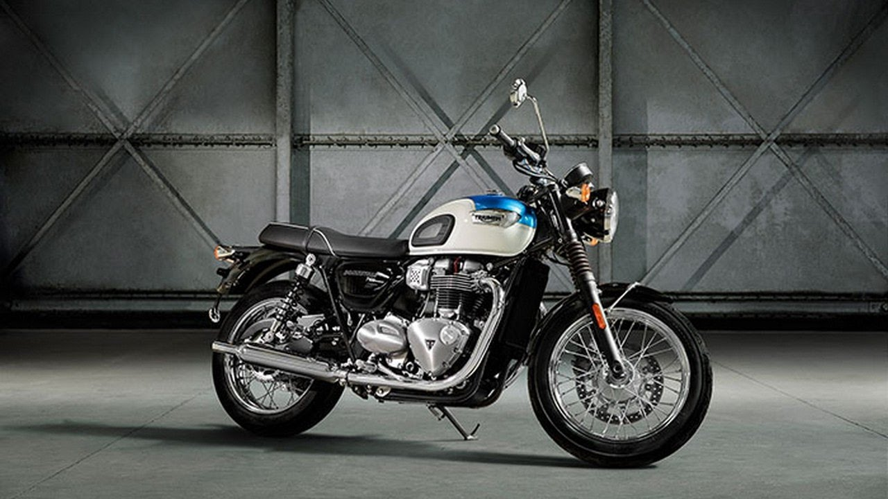 Hot News 2017 Triumph Bonneville T100 First Ride Review Youtube