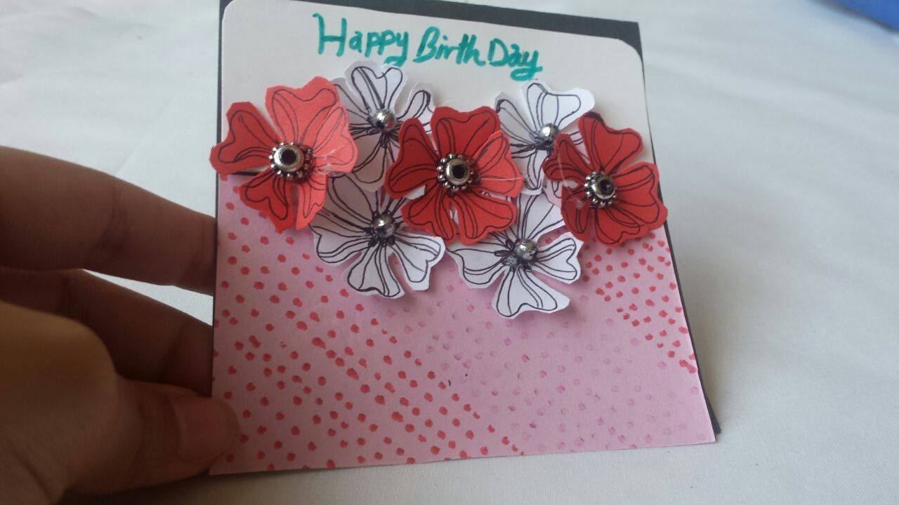 Diy greeting cards how to make birthday greeting card tutorial diy greeting cards how to make birthday greeting card tutorial youtube m4hsunfo