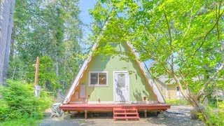 Beautiful Tiny A-frame Cabin With Beach And Marina Access