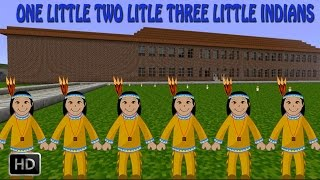 ONE LITTLE TWO LITTLE THREE LITTLE INDIANS - NURSERY RHYMES - POPULAR RHYMES FOR KIDS