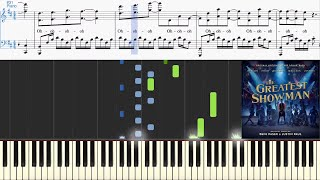 Download Lagu This Is Me (from The Greatest Showman) (Synthesia Piano Tutorial w/Lyrics) Mp3