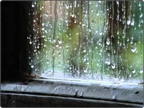 Musica relajante con fondo de lluvia