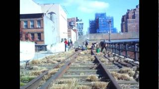 High Line Green-Up Time Lapse