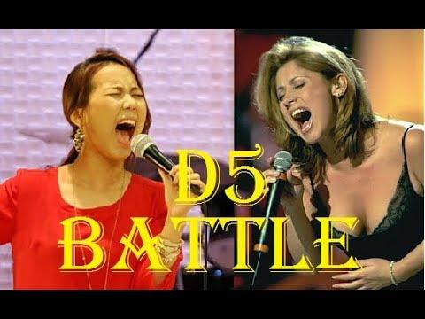 D5 battle - Western Singers VS Korean Singers