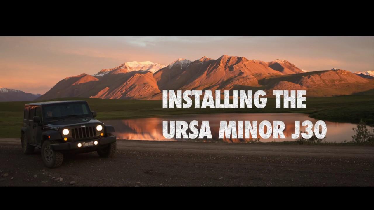 Exploring Jeeps Installing The Ursa Minor J30 Youtube