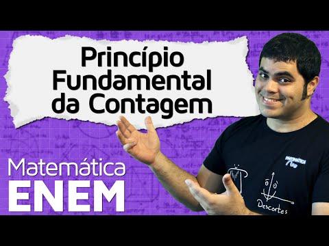 Princípio Fundamental da Contagem - PFC (Análise Combinatória) | Matemática do ENEM