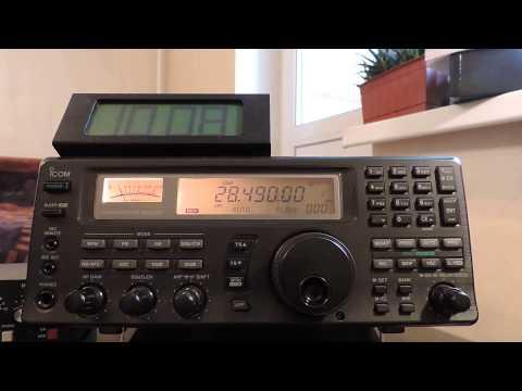 28490khz,Ham Radio,4Z4DX(Ramat Hasharon,Israel)
