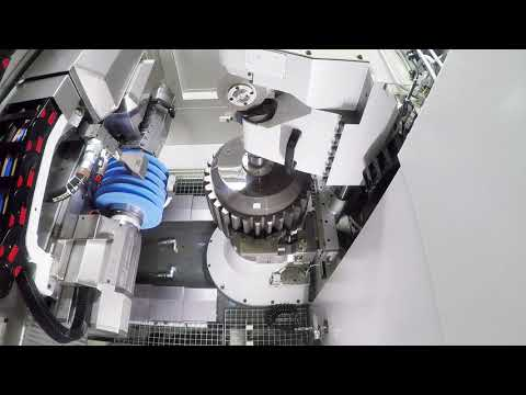 Liebherr - Generating grinding on LGG 500