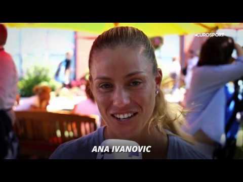 Angelique Kerber Eurosport UK interview