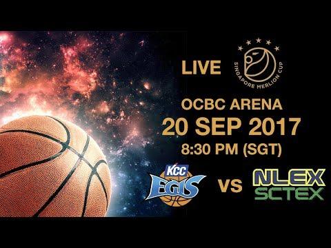 Basketball 🏀 Jeonju KCC Egis 🇰🇷 vs 🇵🇭 NLEX-SCTEX | Singapore Merlion Cup 2017