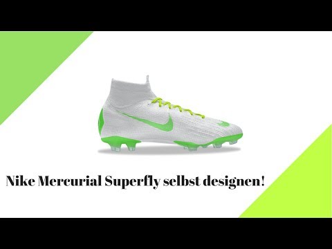 size 7 newest half off Nike Mercurial Superfly selbst designen! - YouTube