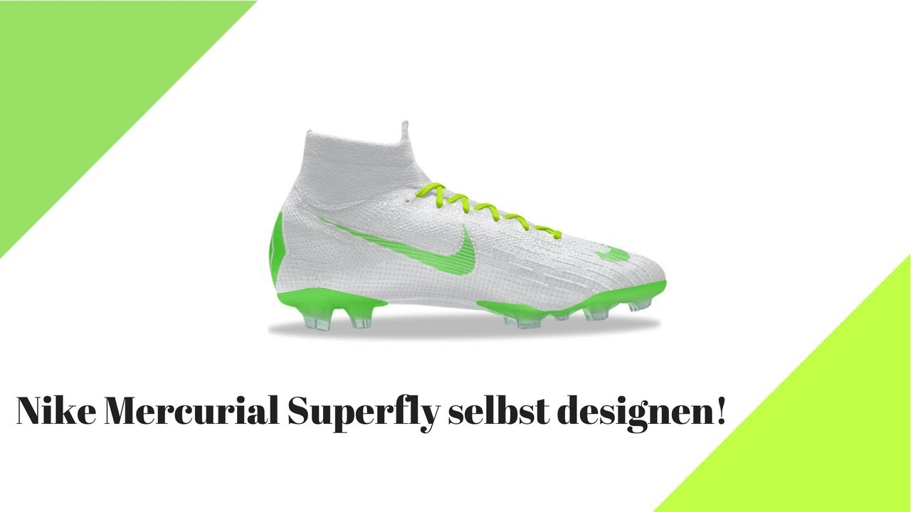 incredible prices best sell best choice Nike Mercurial Superfly selbst designen!