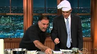 vuclip Late Late Show with Craig Ferguson 7/24/2009 Rashida Jones, Jose Andres, Jim Breuer