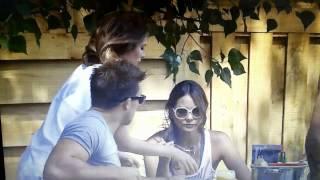 Camila Recabarren le pega a Eugenia lemus