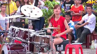 The Amazing Female  Street Drummers of  Asia- Round 2 !