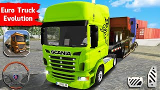 Euro Truck Evolution Simulator #5 | Kamaz Truck Transport with Scania R450 | Android Gameplay screenshot 4