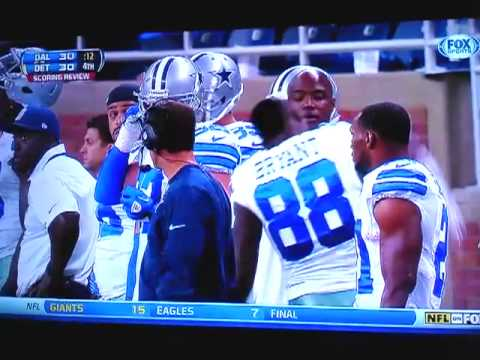 COWBOYS DEZ BRYANT FIGHT WITH JASON WITTEN