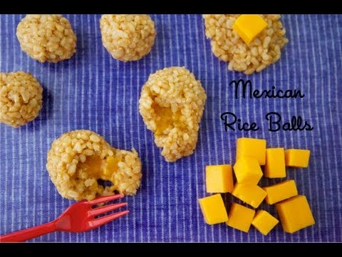 Mexican Rice Balls - Healthy Side Dish Recipes - Weelicious