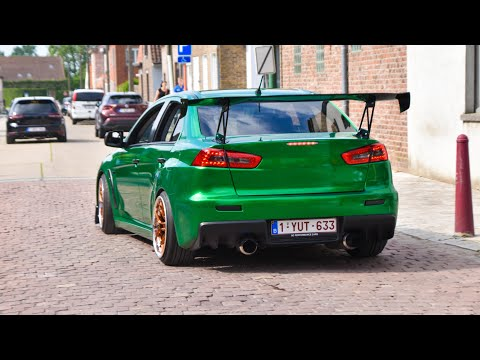 Tuner cars leaving a Carshow 2021 | Hop & Drop
