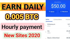 Earn 0.05 BTC DAILY  New Bitcoin Mining Site 2020  Earn Money without investment In Russia