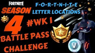 Fortnite - Battle Pass Challenge Week 1 + Blockbuster & Carbide Challenges