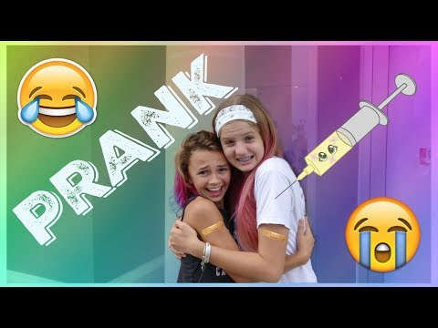 DO VANESSA AND KAYLA GET SHOTS? OR DO THEY GET PRANKED? || Taylor and Vanessa