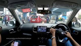 Hyundai Venue Test Drive Review 1L Turbo Petrol Automatic   Rishabh Chatterjee
