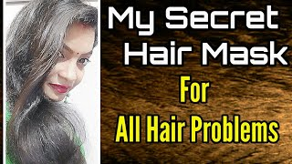 My Secret Hair Mask For All Hair Problems SuSatya Banana Hair Mask