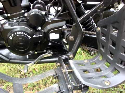 Crossfire Mustang 250cc OHC sports Quad Zongshen Motor Going top gear MPG