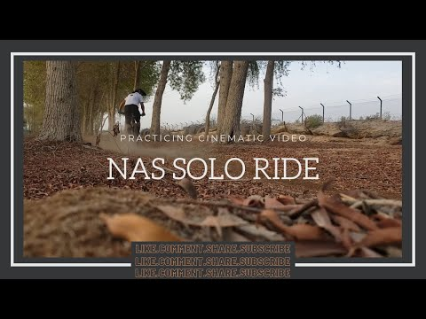 NAS Off Road, Solo Ride (Practicing cinematic video) | Jengski TV