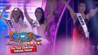 It's Showtime Miss Q & A Grand Finals: Chad, Mitch and Czedy enter Top 3