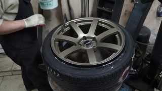 Tyre stretch 215/45 R18 on 9J