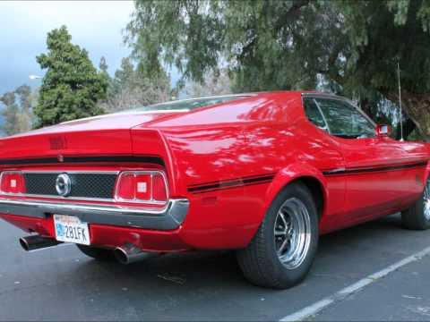 Real 1972 Mach 1 Mustang Q Code