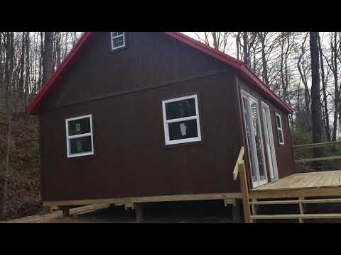 Cabin For Sale On 5+ Acres Of Land Touches Wayne National Forest And Minutes To The Hocking Hills