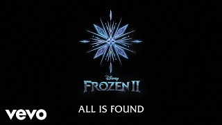 "Evan Rachel Wood - All Is Found  From ""frozen 2""/lyric Video"