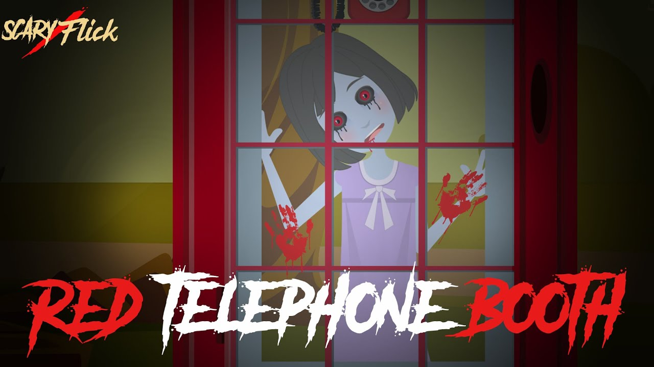 Red Telephone Booth I Haunted Telephone Booth Horror Story In Hindi I Scary Flick E76