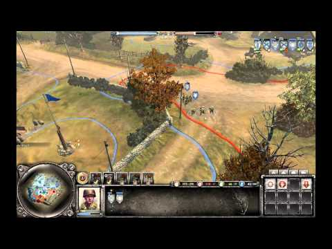 Company Of Heroes 2 The Western Front Armies Deathmatch - MedicalDude vs Tch3ky |