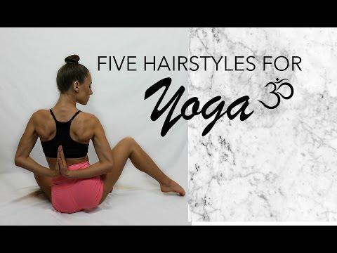 FIVE BEAUTIFUL YOGA HAIRSTYLES