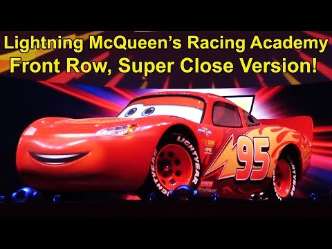 Lightning McQueen's Racing Academy Full Show - SUPER CLOSE UP - Front Row Center Version
